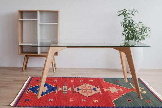 Tappeto Kilim Rettangolare 43 misura 95x155 cm