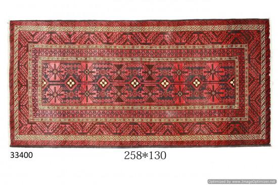 Tappeto Persiano Meshed - Dimensioni 130x258 cm
