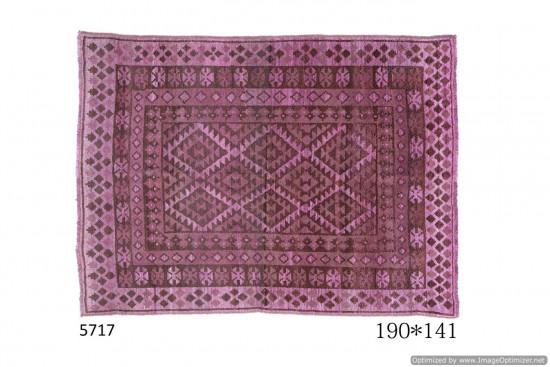 Tappeto Gabbeh Afgano 190x141 cm