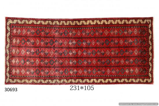 Tappeto Persiano Meshed - Dimensioni 105x231 cm