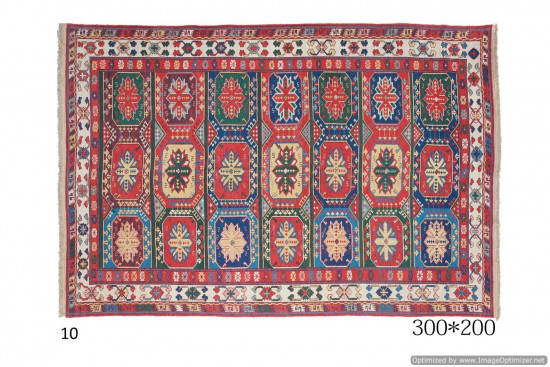 Tappeto Kilim Persiano Sumak 200x300 cm