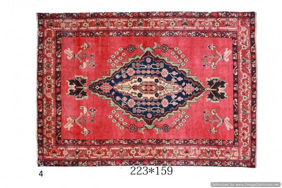Tappeto Persiano Hamadan Afshari - Dimensioni: 223x159 cm