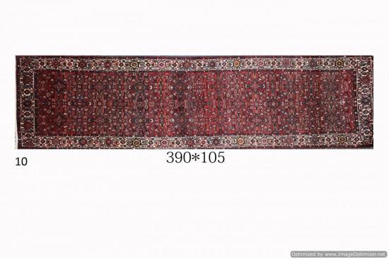 Tappeto Persiano Hamadan Old 105x390 cm