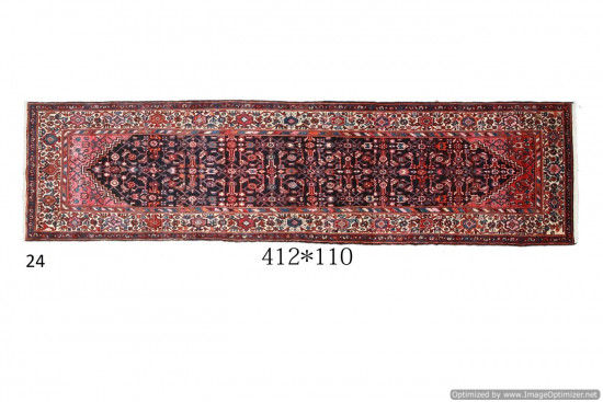 Tappeto Persiano Hamadan 110x412 cm
