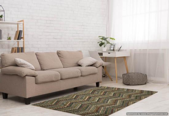 Tappeto Kilim Afgano 45 misura 291x255 cm