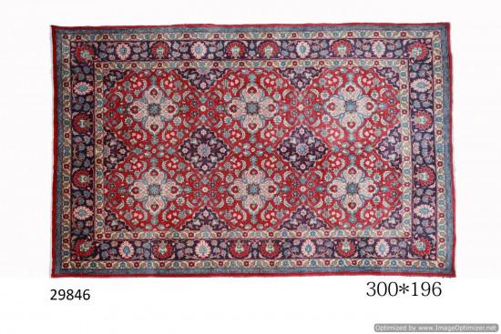 Tappeto Persiano Saruk Fine 196x300 cm