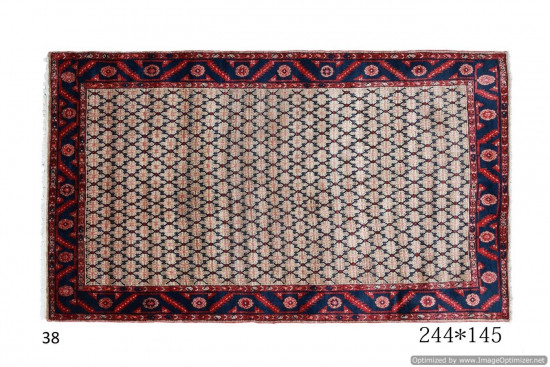 Tappeto Persiano Kolyaei Kurdo 244x145 cm