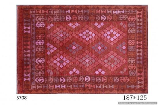 Tappeto Gabbeh Afgano 187x125 cm
