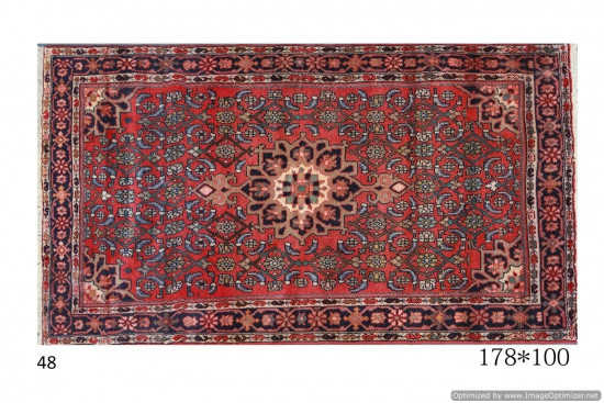 Tappeto Persiano Hamadan - Dimensioni 178x100 cm