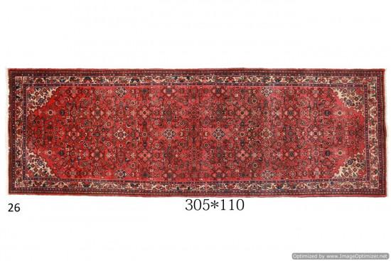 Tappeto Persiano Hamadan 110x305 cm