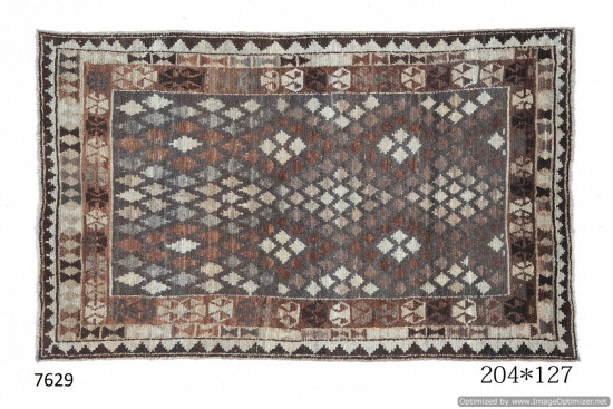 Tappeto Gabbeh Afgano 204x127 cm