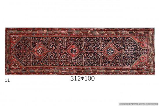 Tappeto Persiano Hamadan 100x312 cm