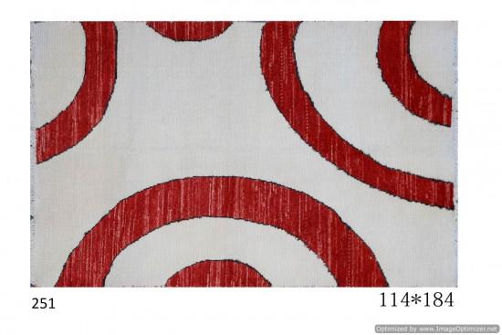 Tappeto Gabbeh Afgano Moderno 184x114 cm