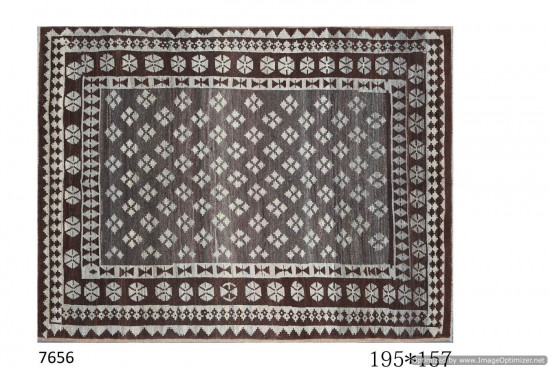 Tappeto Gabbeh Afgano 195x157 cm