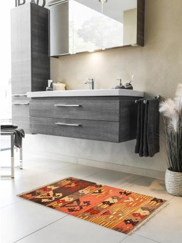 Tappeto Kilim per bagno 4# 65x110 cm