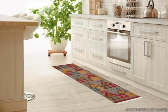 Tappeto Kilim per corridoio 4SKY misura 75x185 cm