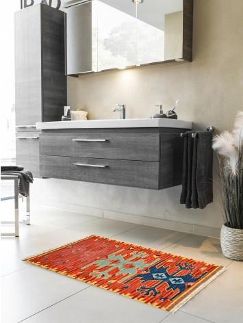 Tappeto Kilim per bagno 1834-65x110 cm