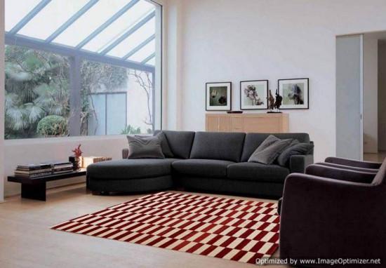 Tappeto Kilim Rettangolare 6-RED misura 255x310 cm