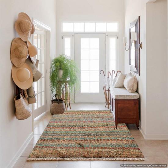 Tappeto Persiano Baluch Colorato 60 - Dimensioni 130x89 cm