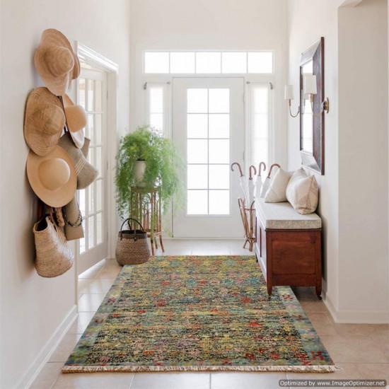 Tappeto Persiano Baluch Colorato 61 - Dimensioni 132x90 cm