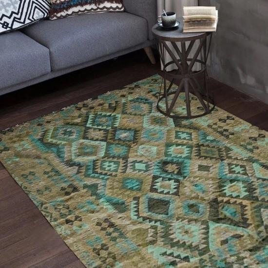 Tappeto Kilim Afgano 62 misura 296x208 cm