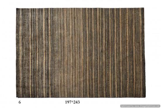 Tappeto Gabbeh Moderno Persia Annodato a mano-243x197 col.6