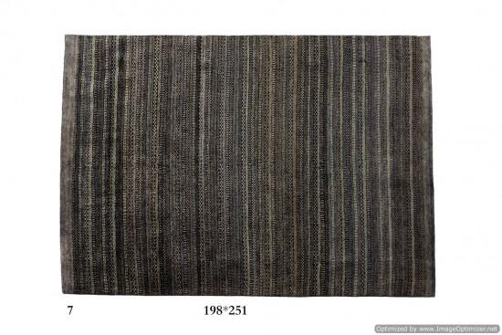 Tappeto Gabbeh Moderno Persia Annodato a mano-251x198 col.7