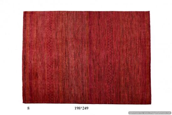 Tappeto Gabbeh Moderno Persia Annodato a mano-249x198 col.8