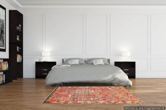 Tappeto Persiano Baluch Colorato 91 - Dimensioni 136x87 cm