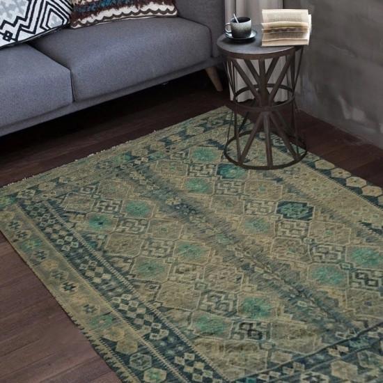 Tappeto Kilim Afgano 92 - Dimensioni 239x182 cm