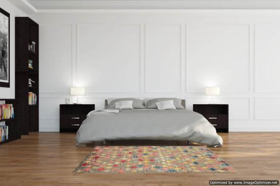 Tappeto Persiano Baluch Colorato 93 - Dimensioni 129x90 cm