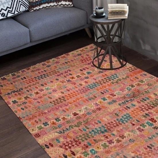 Tappeto Kilim Afgano 99 misura 388x315 cm