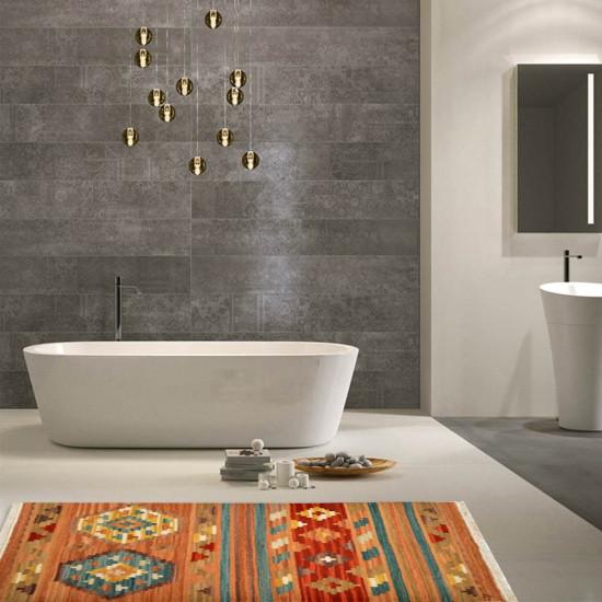 Tappeto Kilim per bagno 4044V1 -65x110 cm