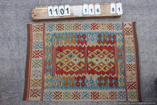 Kilim Afgano 1101 misura 116x81 cm
