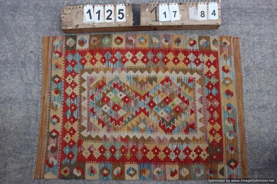 Kilim Afgano 1125 misura 117x84 cm