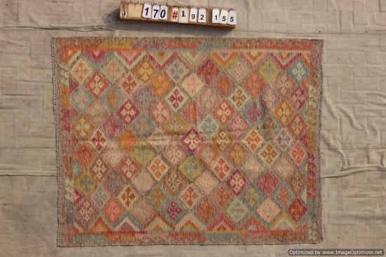 Kilim Afgano 170 misura 192x155 cm