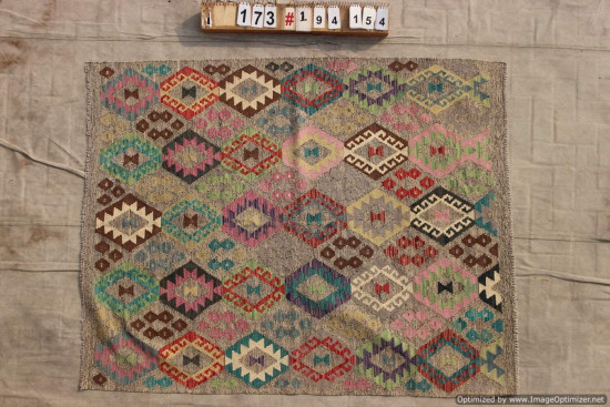 Kilim Afgano 173 misura 195x154 cm