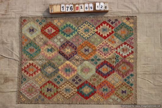 Kilim Afgano 176 misura 169x126 cm