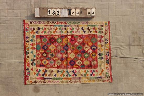 Kilim Afgano 183 misura 129x94 cm