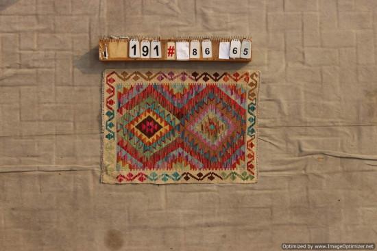 Kilim Afgano 191 misura 86x65 cm