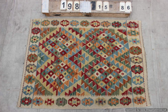 Kilim Afgano 198 misura 115x86 cm