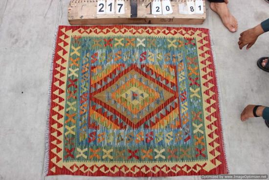 Kilim Afgano 217 misura 120x81 cm