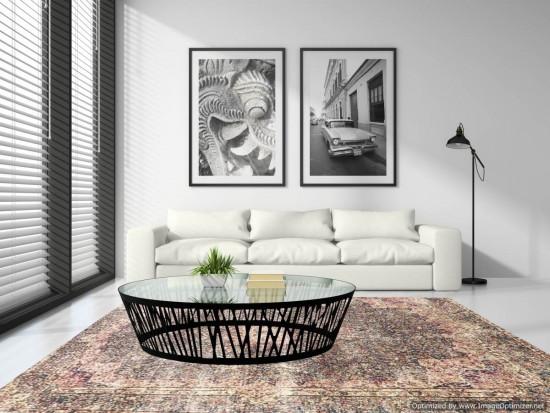 Tappeto Iraniano Vintage Overdyed 156, Dimensione 400*296 cm