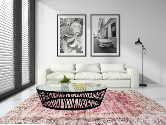 Tappeti Iraniani Vintage Overdyed 136, Dimensione 374*289 cm