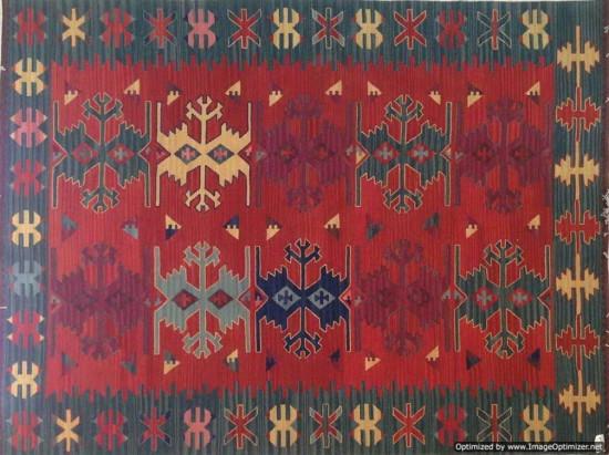 Tappeto Kilim per bagno 1834A-65x110