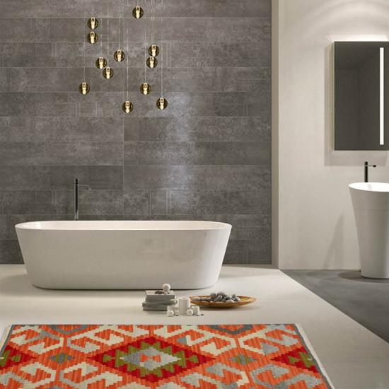 Tappeto Kilim per bagno BRIC6B-1-65x110 cm