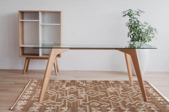 Tappeto Kilim Rettangolare BRIC1 misura 95x155 cm