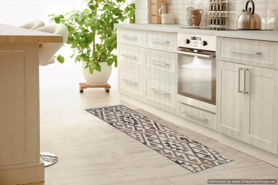 Tappeto Kilim per corridoio BRIC2A misura 75x185 cm