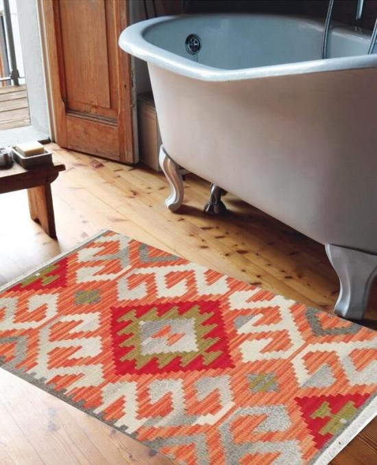 Tappeto Kilim per bagno BRIC6B-1 65x110 cm