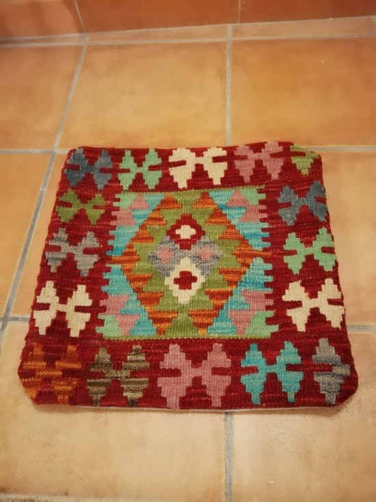 Fodera Cuscino stile afgano  13 misura 45x45 cm